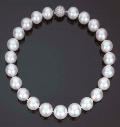 Collana in perle Australiane c