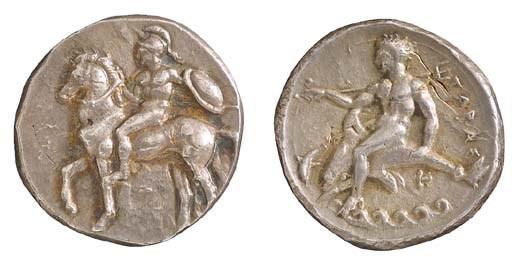 Italy, Calabria, Tarentum (355