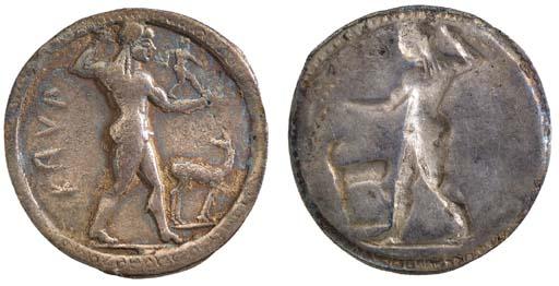 Italy, Bruttium, Kaulonia (530