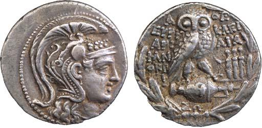 Attica, Athens (154-153 B.C.),