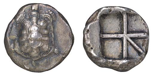 Aegina (c. 404-350 B.C.), Stat