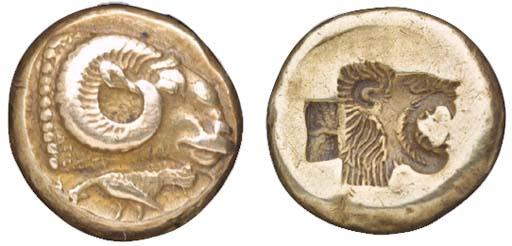 Lesbos, Mytilene (c. 521-478 B