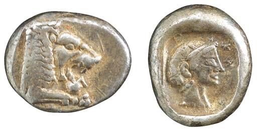 Caria, Knidos (c. 520-495 B.C.