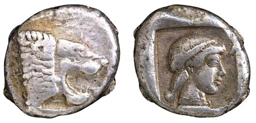 Caria, Knidos (c. 490-465 B.C.