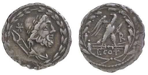 L Cotta (105 B.C.), serrate De