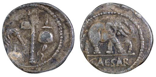 Julius Caesar, Denarii (3), mo