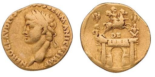 Claudius (41-54), Aureus, Lugd