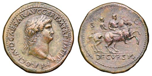 Nero (54-68), Sestertius, Rome