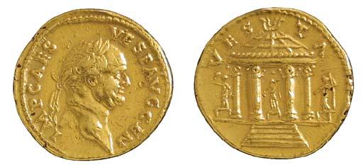 Vespasian (69-79), Aureus, 7.3