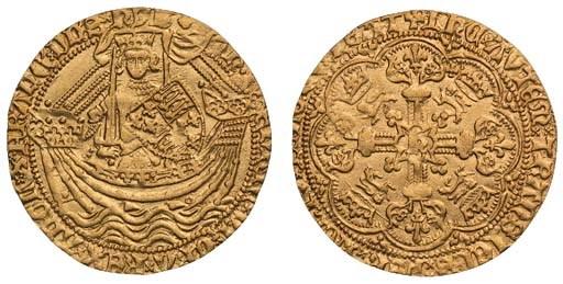 Henry V (1413-22), Noble, 6.57