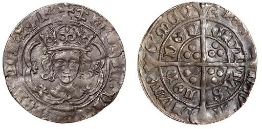 Henry VII (1485-1509), facing