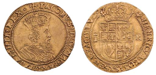 James I, second coinage, Doubl