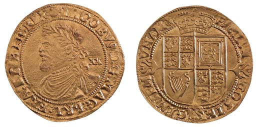 James I, third coinage, Laurel
