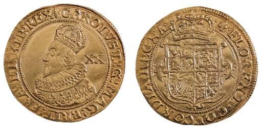 Charles I (1625-49), Unite, 8.