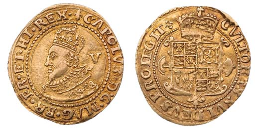 Charles I, (gold) Crown, 2.32g