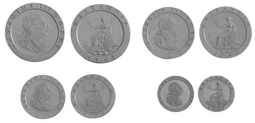 George III, 'set' of copper pr
