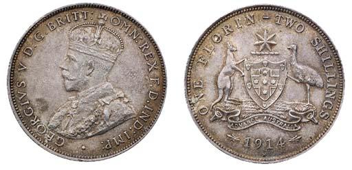 Australia, George V (1910-36),