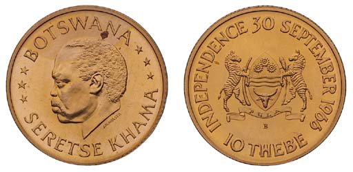 Botswana, Republic (1966-), Se