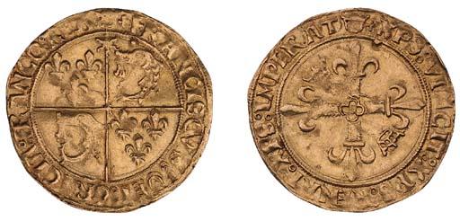 Charles VIII (1483-97), Écu d'