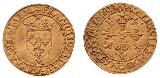François I, Écu d'or au soleil