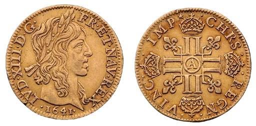 Louis XIII (1610-43), Louis d'