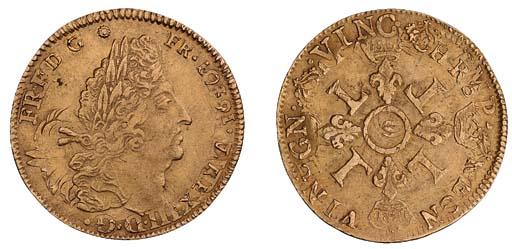 Louis XIV (1643-1715), Double