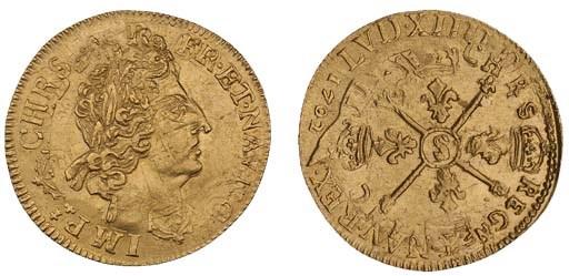 Louis XIV, Double Louis d'or a