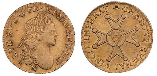 Louis XV (1715-74), Louis d'or