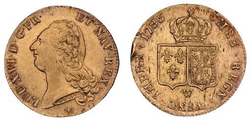 Louis XVI (1774-93), Double Lo