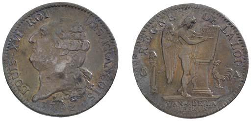 Louis XVI, Écu de 6 Livres, 17