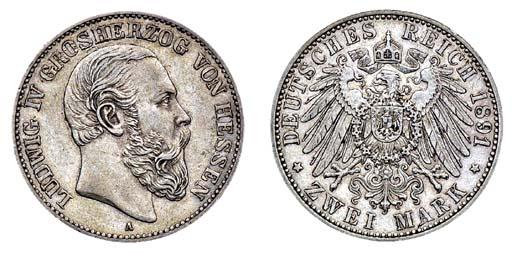 Hessen, Ludwig IV (1877-92), 2