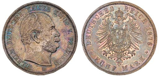 Prussia, Wilhelm I (1861-88),