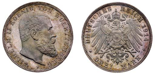Württemberg, Wilhelm II (1891-