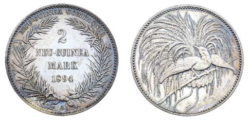 German New Guinea, proof 2-Mar