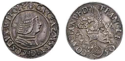 Italy, Milan, Galeazzo Maria S