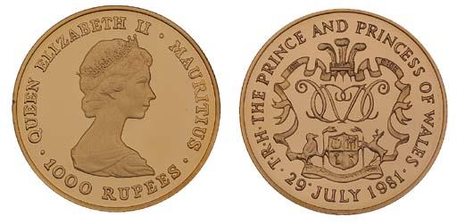 Mauritius, Elizabeth II, proof