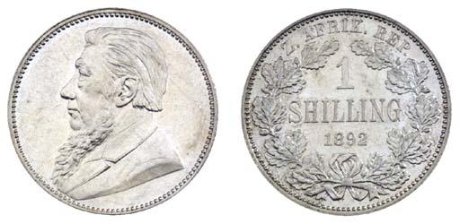 Z.A.R., President Kruger, Shil