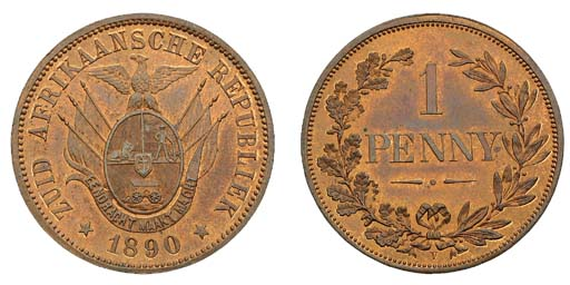 Z.A.R., pattern bronze Penny,