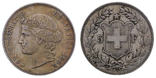 Switzerland, Confederation, 5-