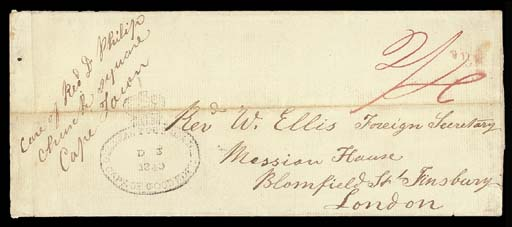 cover 1840 (12 Sept.) entire f