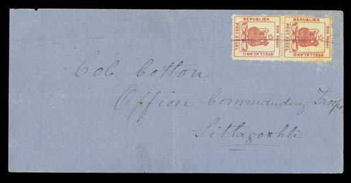 cover 1885 (June) blue envelop