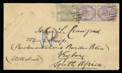 cover 1886 (16 Feb.) envelope