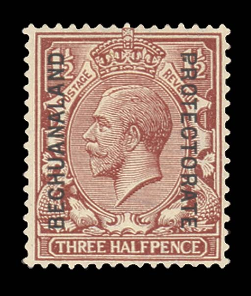 unused  -- 1½d. red-brown, var