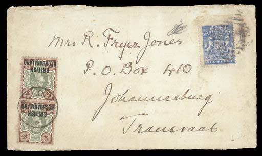 cover 1892 (29 July) envelope