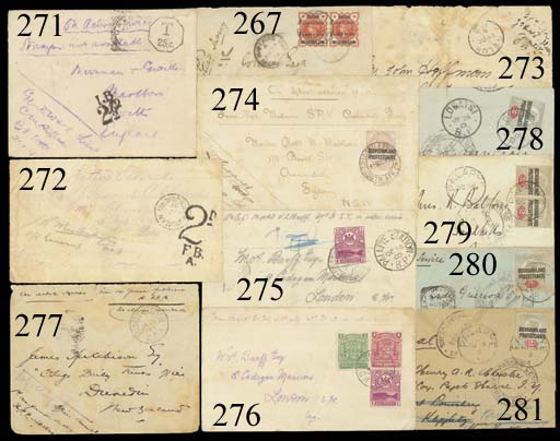 cover 1901 (26 Jan.) envelope