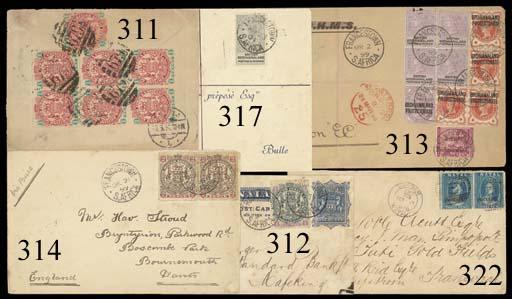 cover 1899 (21 Dec.) envelope