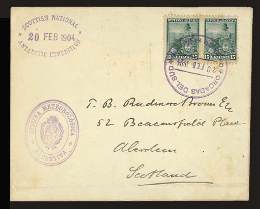 cover 1904 (20 Feb.) envelope