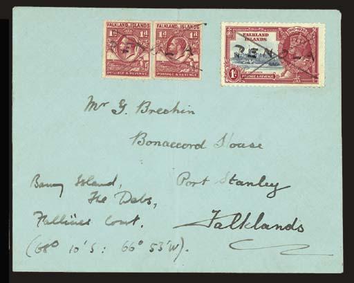cover Undated envelope address