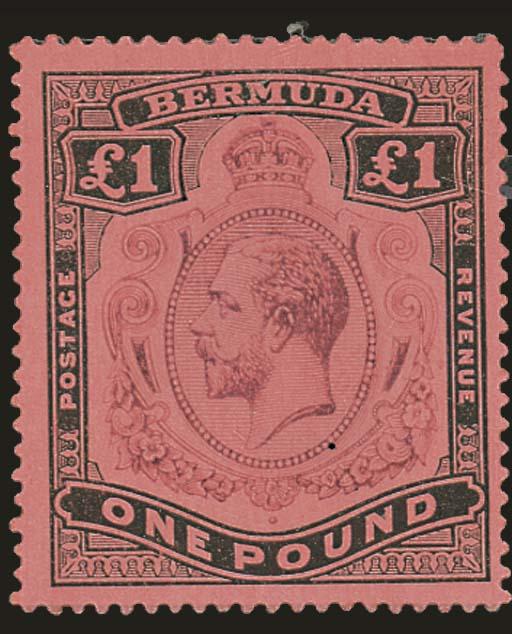 unused  1918-22 MCA 2/- to £1