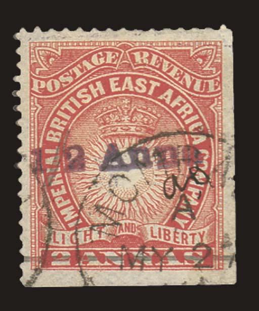 used  1891 Mombasa Provisional